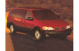 3/4 Front Glamour 1998 Pontiac Trans Sport