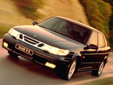 3/4 Front Glamour 1999 Saab 9-5