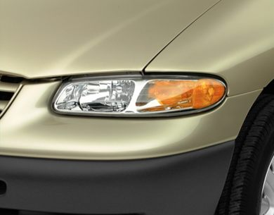 Headlamp  2000 Chrysler Grand Voyager