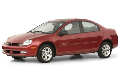 3/4 Front Glamour 2000 Dodge Neon