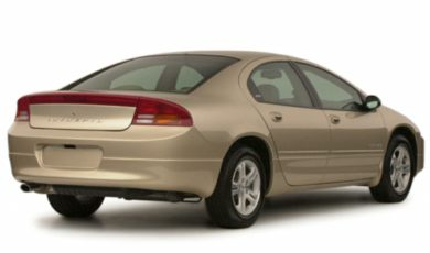 3/4 Rear Glamour  2000 Dodge Intrepid
