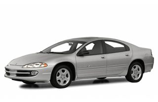 3/4 Front Glamour 2000 Dodge Intrepid