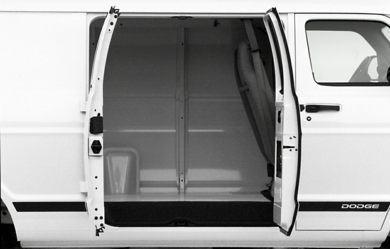 Rear Door 2000 Dodge Ram Van 3500