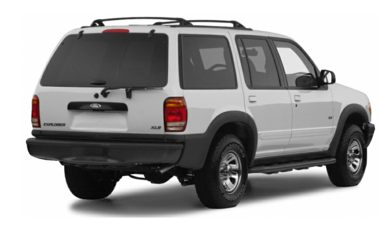 3/4 Rear Glamour  2000 Ford Explorer
