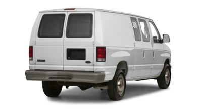 3/4 Rear Glamour  2000 Ford E-250