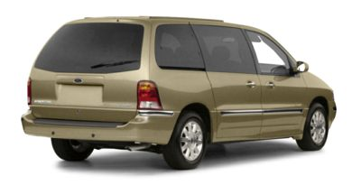 3/4 Rear Glamour  2000 Ford Windstar