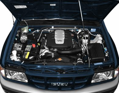 Engine Bay  2000 Isuzu Rodeo