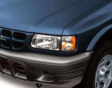 Headlamp  2000 Isuzu Rodeo