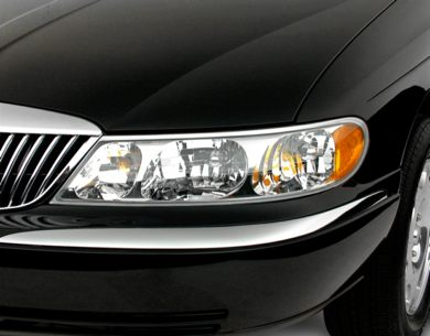 Headlamp  2000 Lincoln Continental