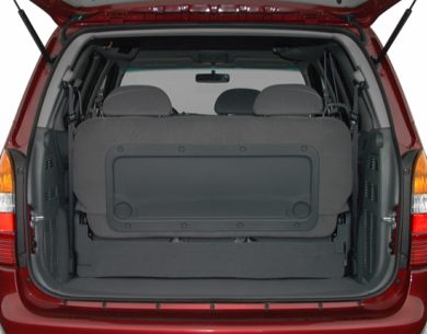 Trunk/Cargo Area/Pickup Box 2000 Mercury Villager