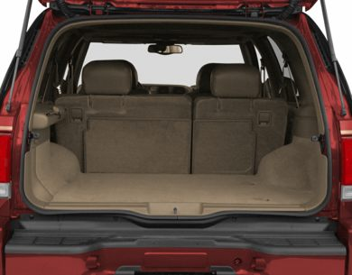 Trunk/Cargo Area/Pickup Box 2000 Oldsmobile Bravada