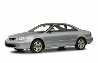 3/4 Front Glamour 2001 Acura CL