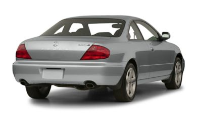 3/4 Rear Glamour  2001 Acura CL