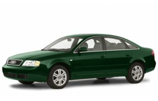 3/4 Front Glamour 2001 Audi A6
