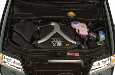 Engine Bay  2001 Audi A6