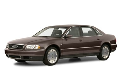 3/4 Front Glamour 2001 Audi A8