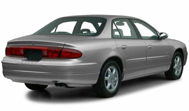 3/4 Rear Glamour  2001 Buick Regal