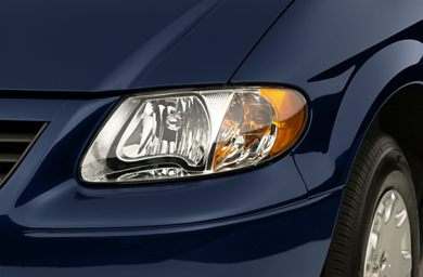 Headlamp  2001 Chrysler Voyager
