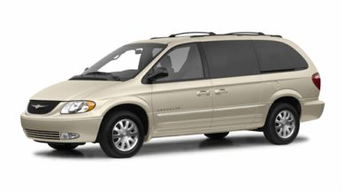 3/4 Front Glamour 2001 Chrysler Town & Country