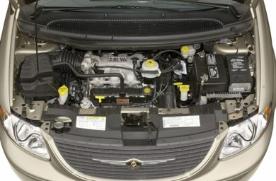 Engine Bay  2001 Chrysler Town & Country