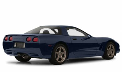 3/4 Rear Glamour  2001 Chevrolet Corvette