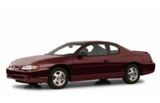3/4 Front Glamour 2001 Chevrolet Monte Carlo