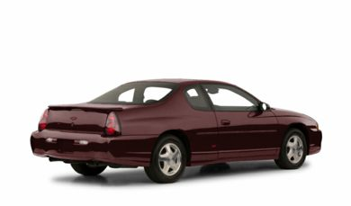 3/4 Rear Glamour  2001 Chevrolet Monte Carlo