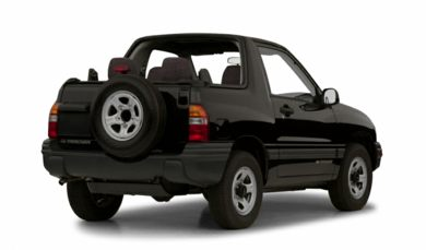 3/4 Rear Glamour  2001 Chevrolet Tracker
