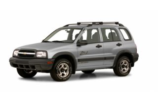 3/4 Front Glamour 2001 Chevrolet Tracker