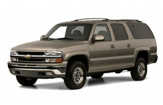 3/4 Front Glamour 2001 Chevrolet Suburban 2500