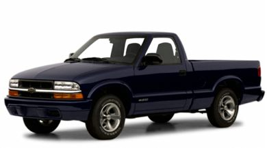3/4 Front Glamour 2001 Chevrolet S-10