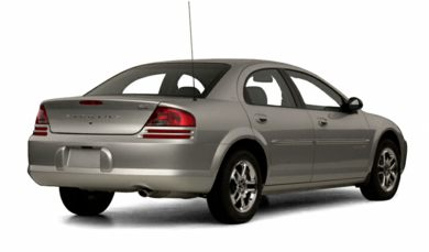 3/4 Rear Glamour  2001 Dodge Stratus