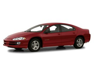 3/4 Front Glamour 2001 Dodge Intrepid