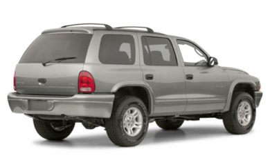 3/4 Rear Glamour  2001 Dodge Durango