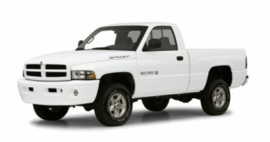 3/4 Front Glamour 2001 Dodge Ram 1500