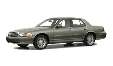 3/4 Front Glamour 2001 Ford Crown Victoria