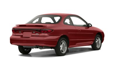 3/4 Rear Glamour  2001 Ford Escort