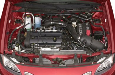 Engine Bay  2001 Ford Escort