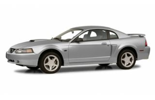 3/4 Front Glamour 2001 Ford Mustang