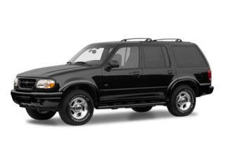 3/4 Front Glamour 2001 Ford Explorer