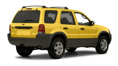 3/4 Rear Glamour  2001 Ford Escape