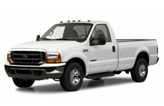 3/4 Front Glamour 2001 Ford F-350