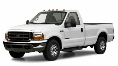 3/4 Front Glamour 2001 Ford F-250