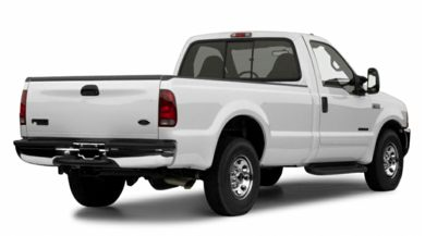 3/4 Rear Glamour  2001 Ford F-350