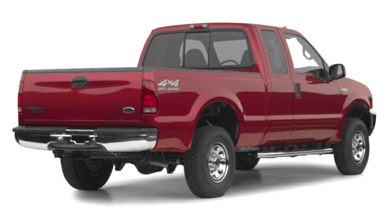 3/4 Rear Glamour  2001 Ford F-250