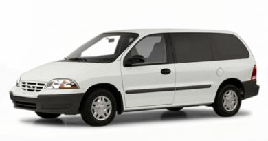 3/4 Front Glamour 2001 Ford Windstar