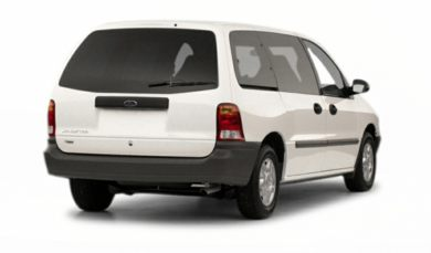 3/4 Rear Glamour  2001 Ford Windstar