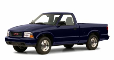 3/4 Front Glamour 2001 GMC Sonoma