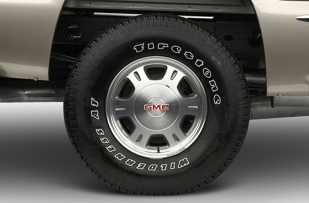 Tires 2001 GMC Sierra 1500
