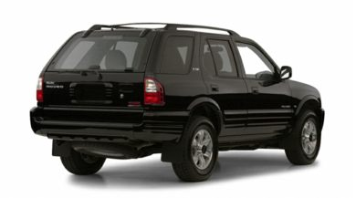 3/4 Rear Glamour  2001 Isuzu Rodeo